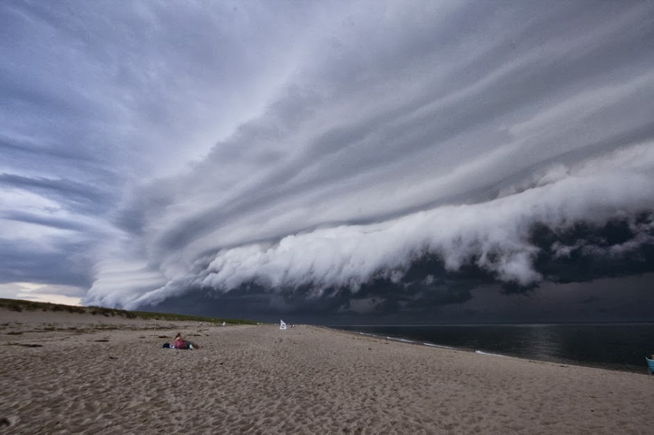 Shelf cloud Cape Cod MA