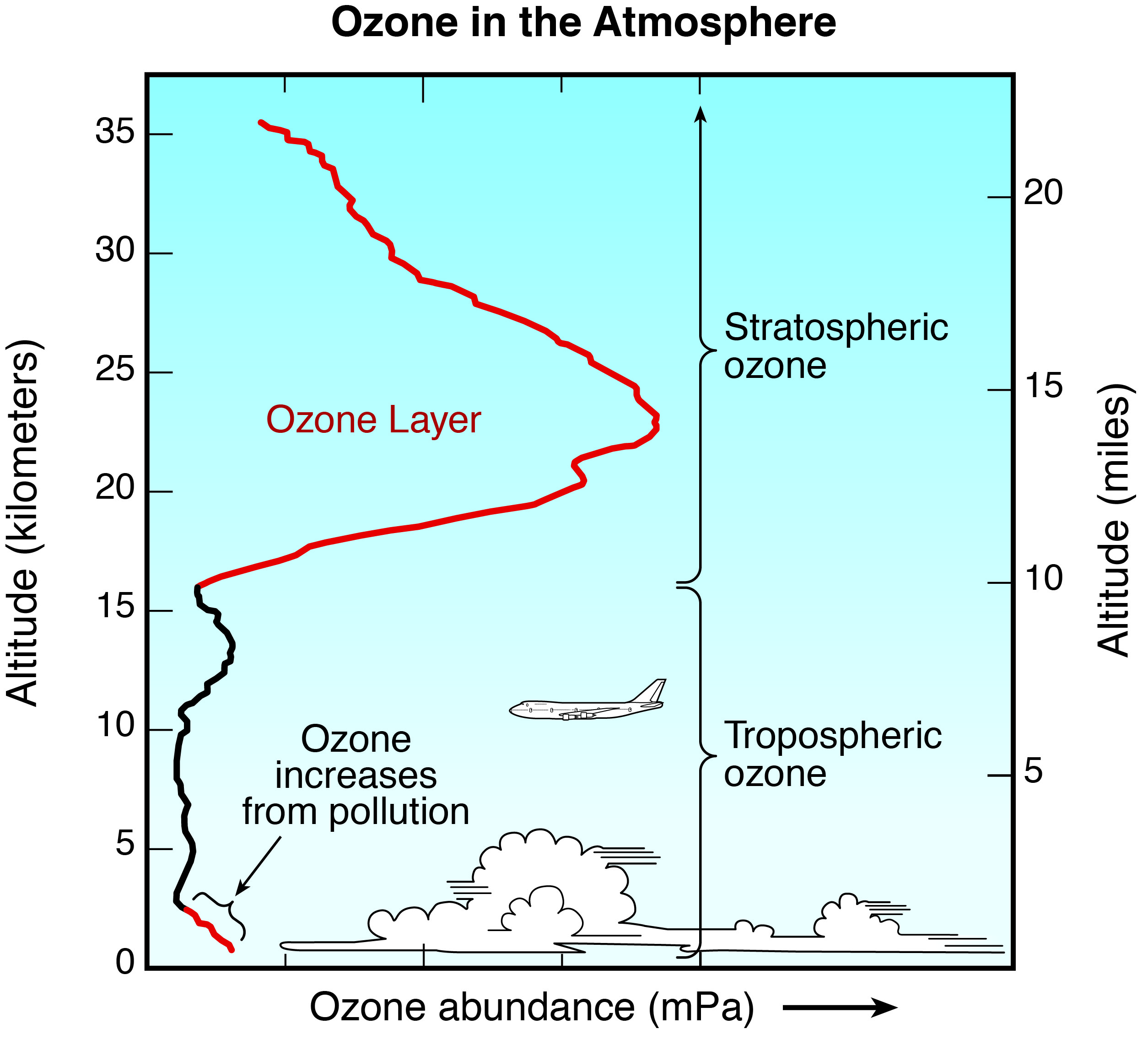 ozone-distribution-in-the-atmosphere